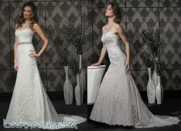 6 vestidos espectaculares de Impression Bridal