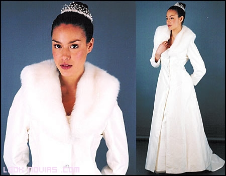 abrigo y chal para novias