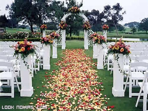 jardines con flores para bodas