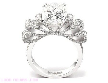 Anillos Chanel para novias de lujo