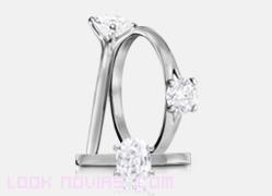 anillos con diamantes redondos