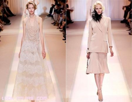 vestidos vintage colección Armani
