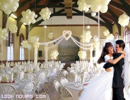 Globos para decorar tu boda