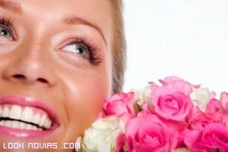 Blanca y radiante va la novia... y su dentadura