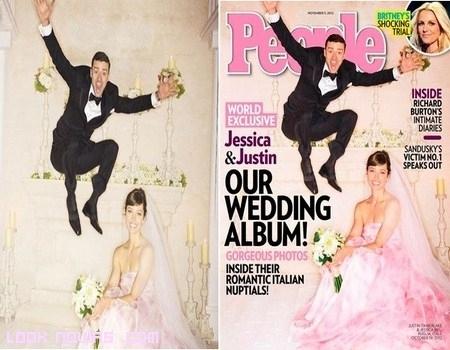 Boda Jessica Biel y Justin Timberlake