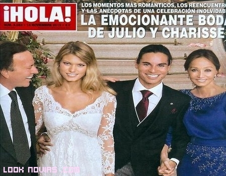 Boda Julio Iglesias Jr y Charisse