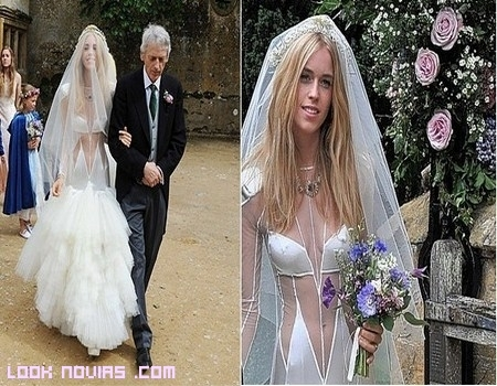 Boda original de Lady Mary Charteris
