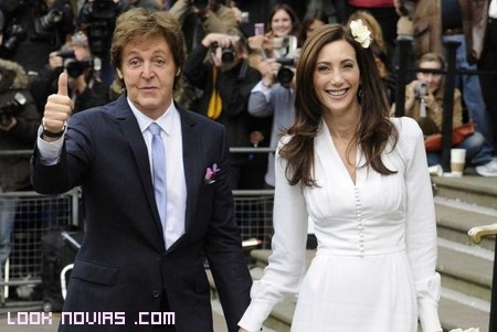 Boda de Paul McCartney Con Nancy Shevell