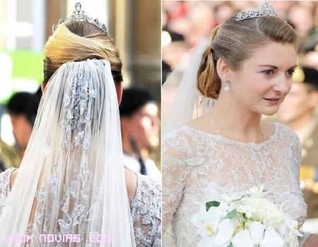 Vestido de la princesa de Luxemburgo