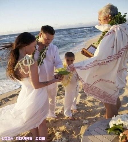 Una ceremonia diferente, boda Maya