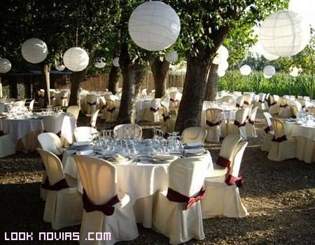decoración de jardines para bodas