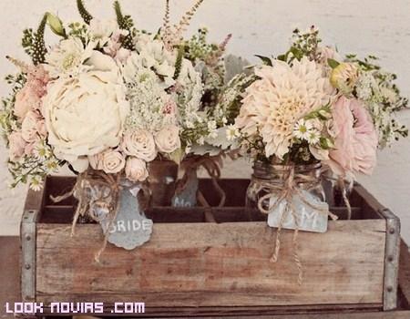 Decoración rústica para tu boda