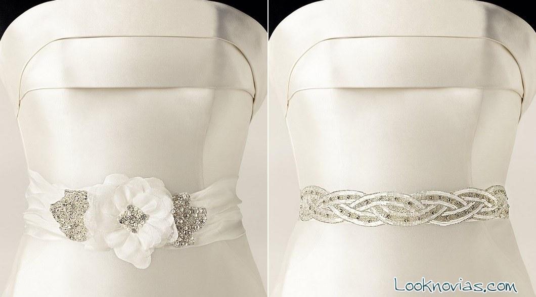 Imagenes de cinturones para vestidos de novia