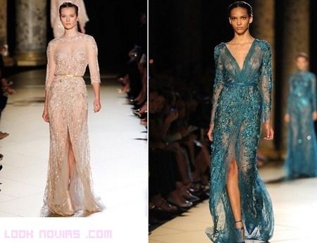 Vestidos Elie Saab, para bodas de alta costura