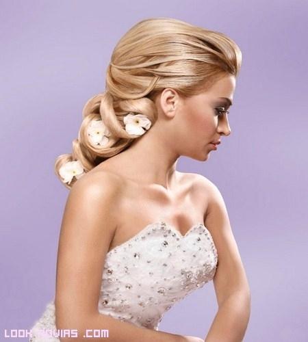 Peinados muy elaborados y elegantes