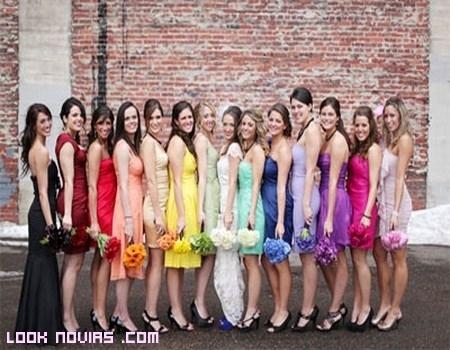 Colores de vestidos para boda en el dia