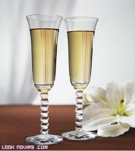 Copas decoradas por ti, para tu brindis