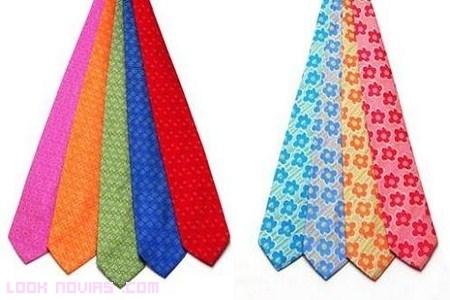 Corbatas muy coloridas de Ágatha Ruíz de la Prada