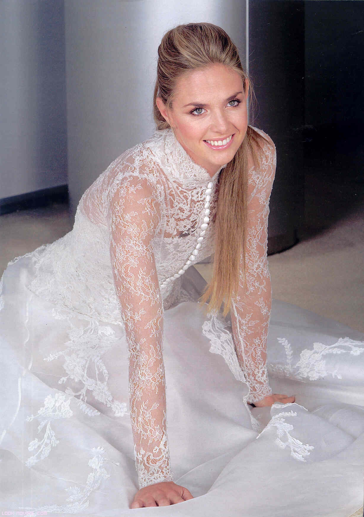 vestido de novia sin escote