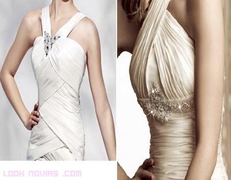 Diferentes corpiños para novias