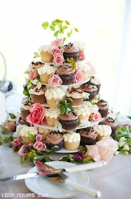 cómo hacer cupcakes para boda