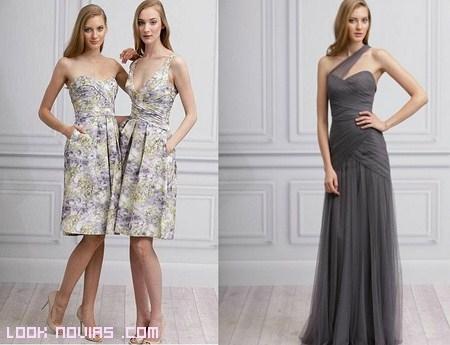 Vestidos sencillos de dama de honor