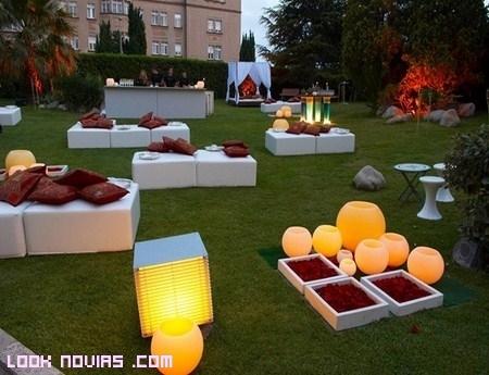 Ambientacion de jardines para bodas al aire libre for Ambientacion para bodas