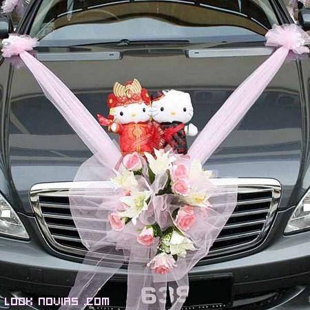 Ideas originales para decorar el coche de novios