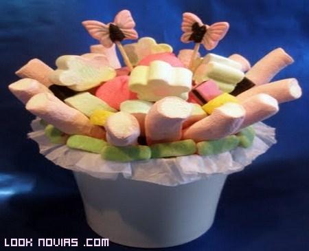 buffet de gominolas para bodas