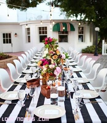 mesas decoradas para fiestas