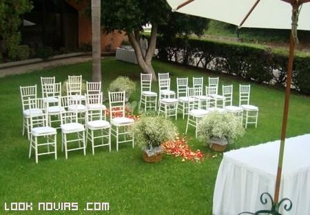 Tips para celebrar una boda en casa - Decoracion boda en casa ...