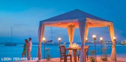 Destino de playa para matrimonios