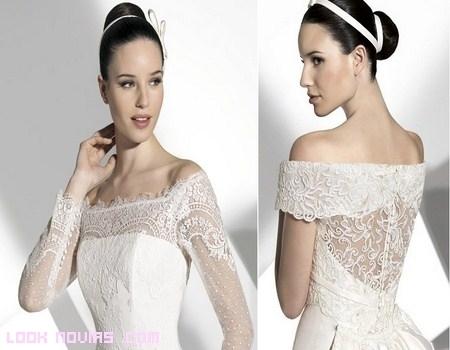 Escotes de lujo para novias Franc Sarabia