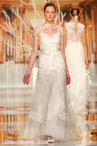 Vestidos de novia con flores