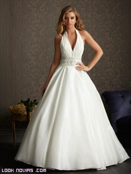 Vestidos de novia para boda de noche