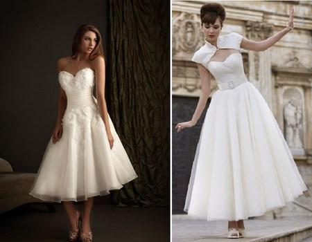 faldas evasé para novias