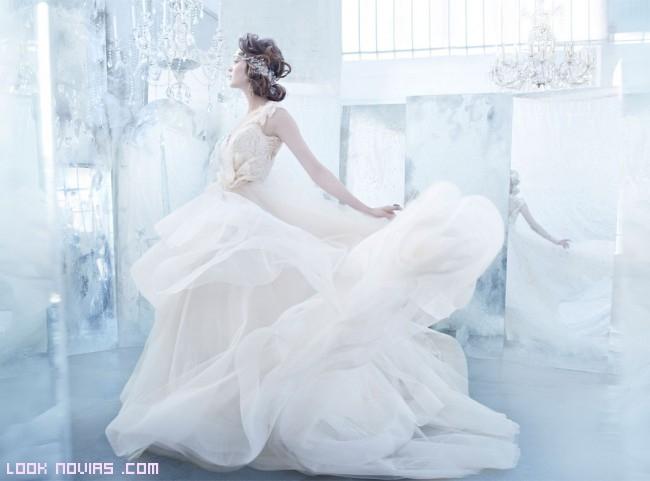 faldas abollonadas para novias