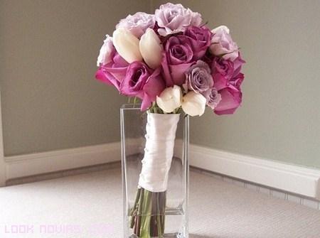 Ramos en colores para novias románticas