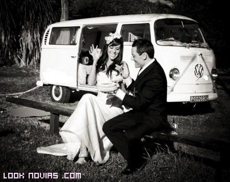Medio de transporte original para tu boda