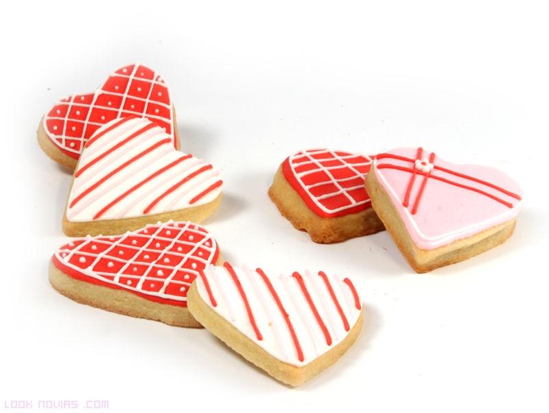 galletas decoradas para bodas modernas