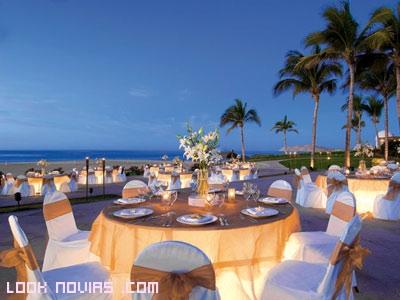 lazos para las sillas de boda