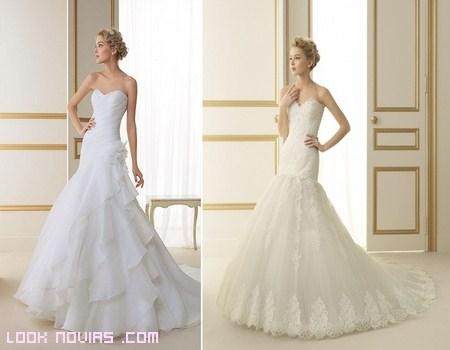 luna novias y sus nuevos modelos 2013