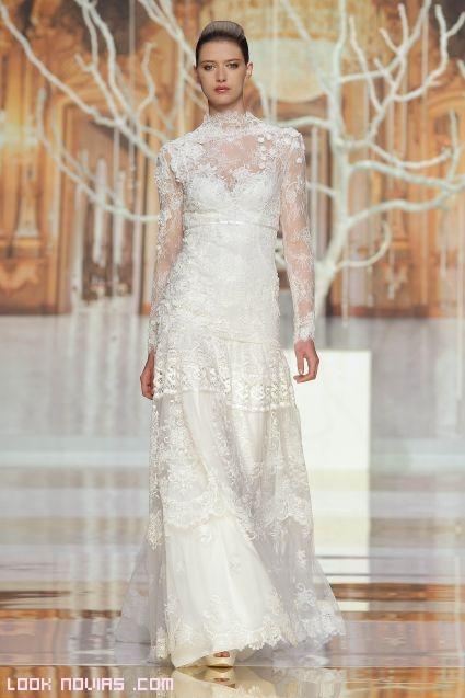 vestidos de novia ibicencos manga larga