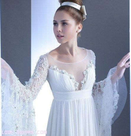 guia tipos de mangas del vestido de novia - moda nupcial - foro