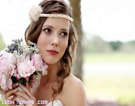 Maquillaje para novias bohemias