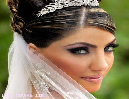 Sombras de moda para novias
