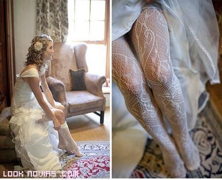 Medias para novias