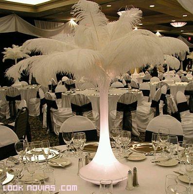 decoraci n con plumas