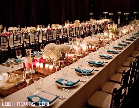 mesas alargadas para eventos