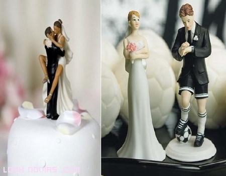 Muñecos originales para la tarta